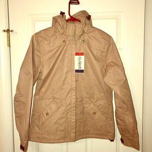 NWT! Women's Clique Rain Jacket, Size Medium